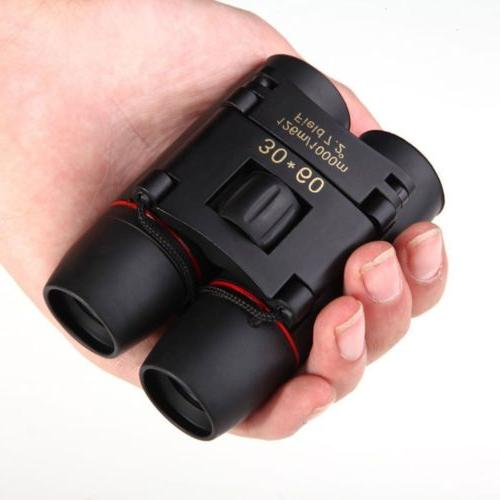 Day Vision 30 60 Zoom Outdoor Travel Folding Telescope Bag