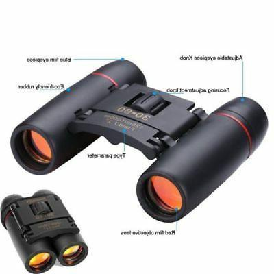 Day Night Binoculars 30 Outdoor Travel Folding Bag