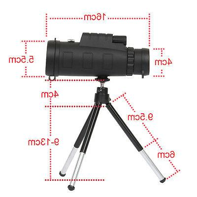 New 40X60 Optical Monocular Hunting Hiking Telescope