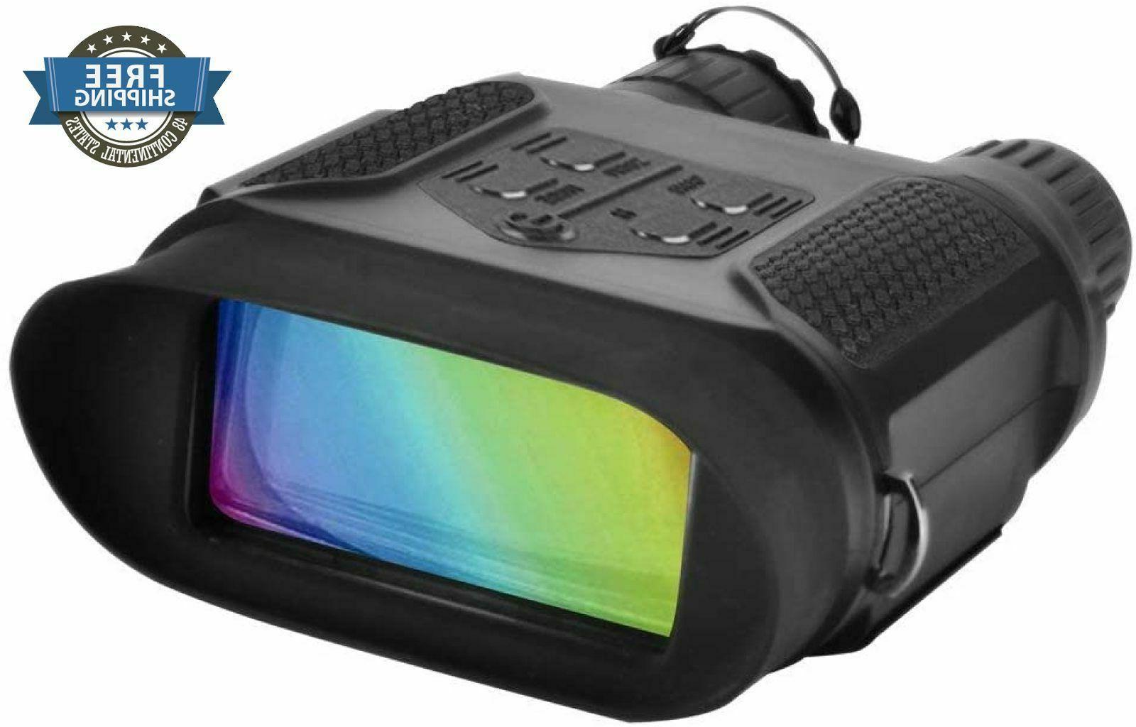 Digital 3W Infrared Night Vision Binocular Hunt Large Viewin