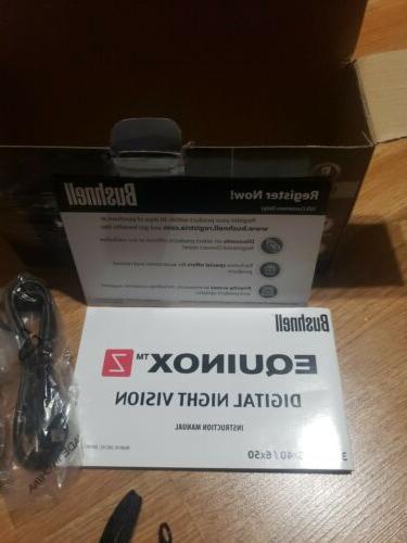 Bushnell 6X50mm Mount BRAND NEW BOX
