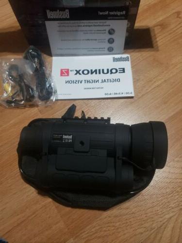 Bushnell Digital Vision 6X50mm Mount BOX