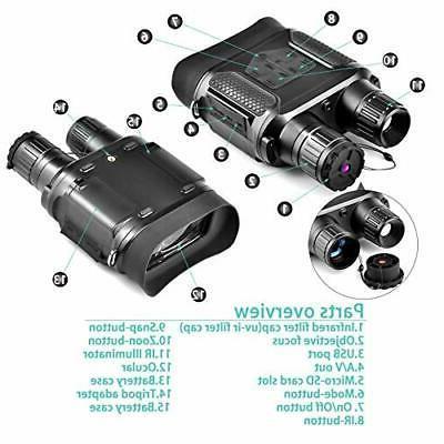 Digital Night Vision 7x31mm-400m/1300ft Super