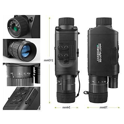 Bestguarder Digital Monocular WiFi, Infrared IR Camera C