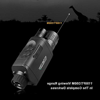 Bestguarder Vision Monocular with WiFi, HD Infrared IR Camera C
