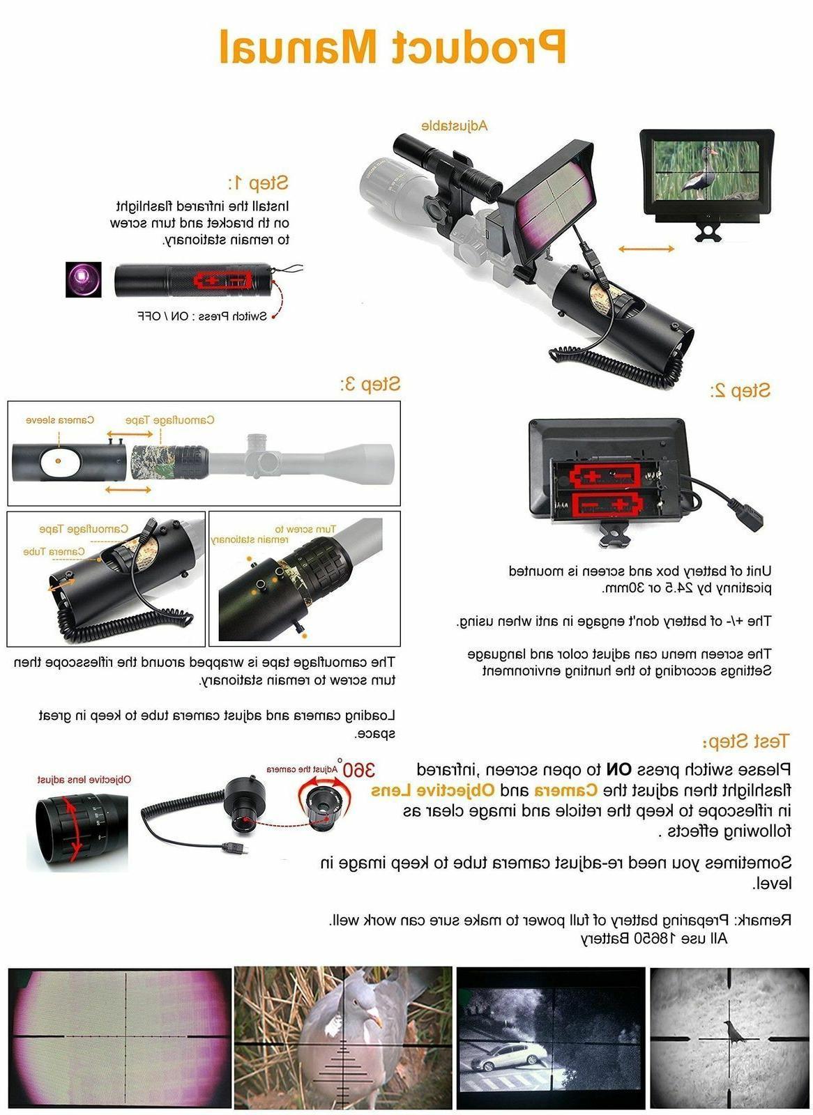 bestsight Digital Vision Scope Hunting with Camera