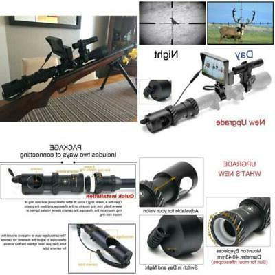 upgrade diy digital night vision scope