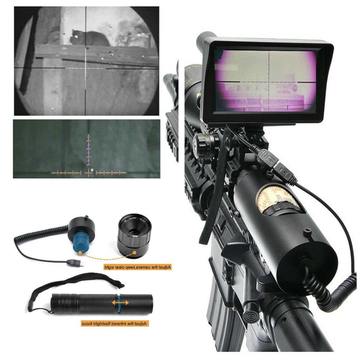 diy digital night vision scope for riflescopes