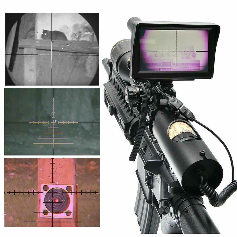 "bestsight DIY Night Vision Scope Camera 5"" Display"
