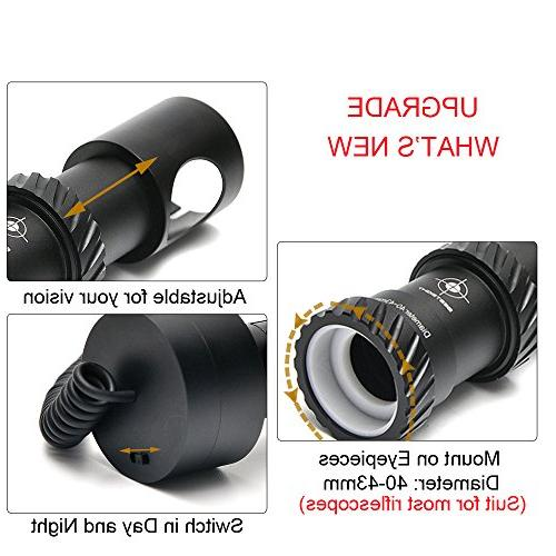 "bestsight DIY Digital Vision Scope Hunting with 5"" Portable Display"