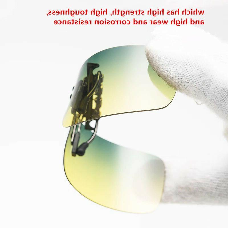 Driving UV400 Clip-on Glasses Fishing Eyewear