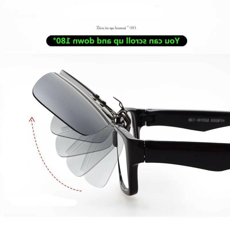 Driving Clip-on Glasses Myopia Sunglasses