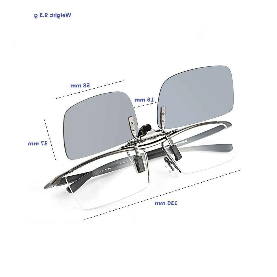 Driving Polarized UV400 Clip-on Glasses Fishing
