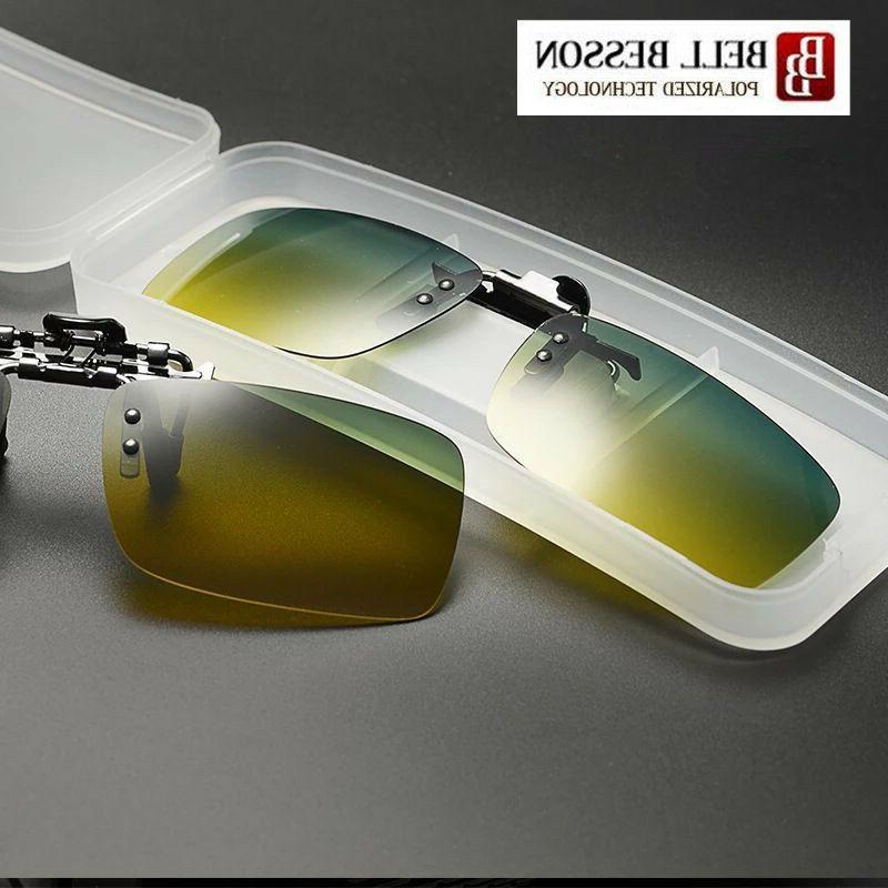 Driving Polarized UV400 Clip-on Glasses Fishing Eyewear