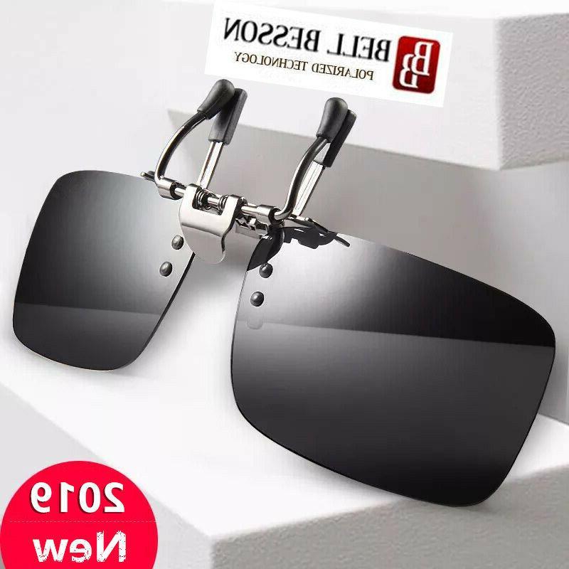 driving polarized uv400 lens clip on glasses