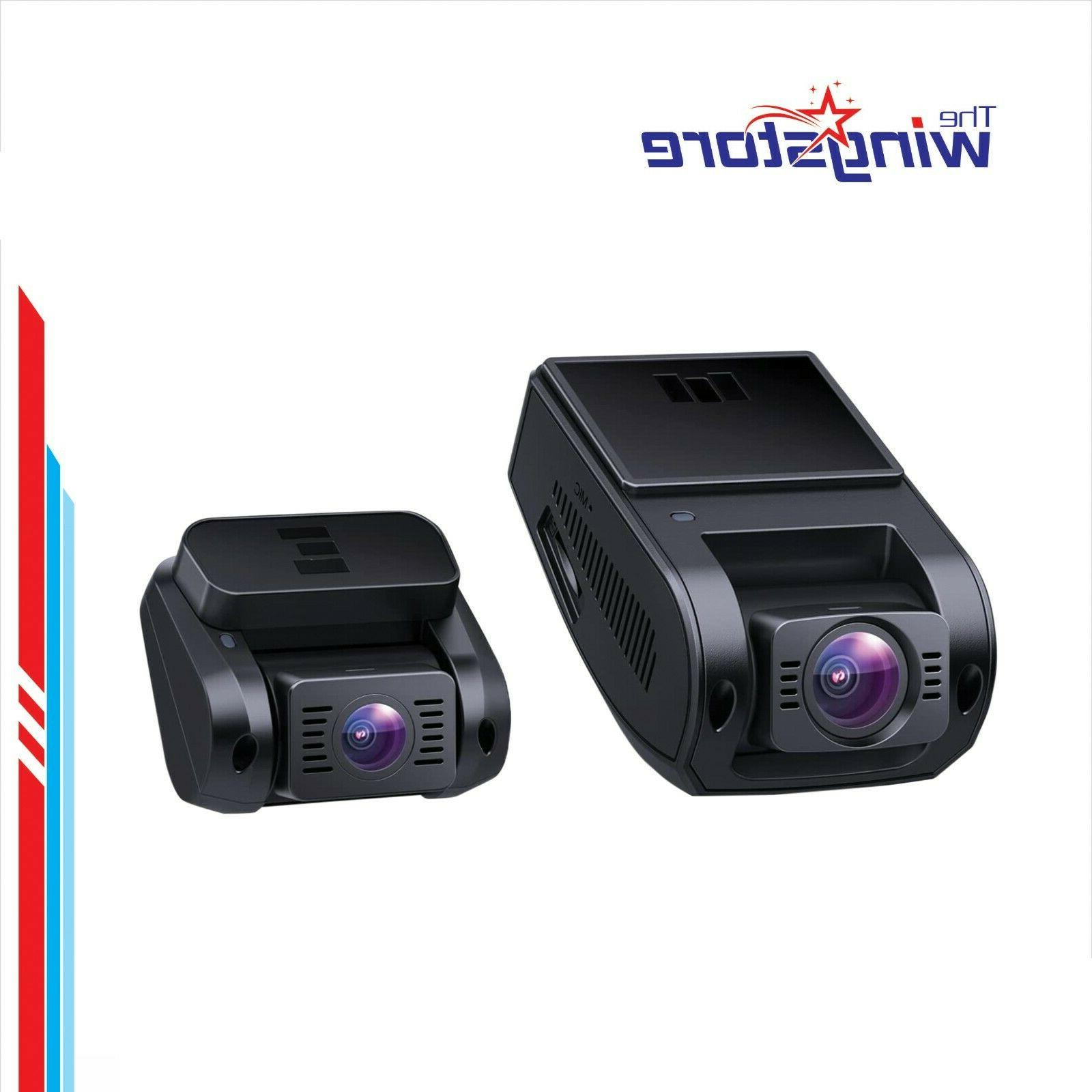 dual dash cam hd 1080p front