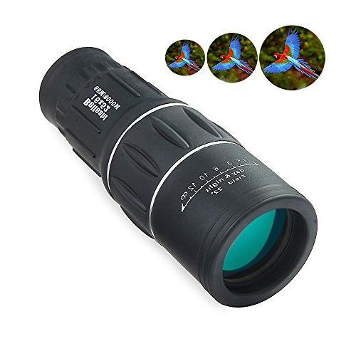 dual focus monocular telescope