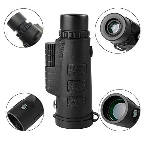 Monocular 12X50 High Power - Low Vision with Phone for