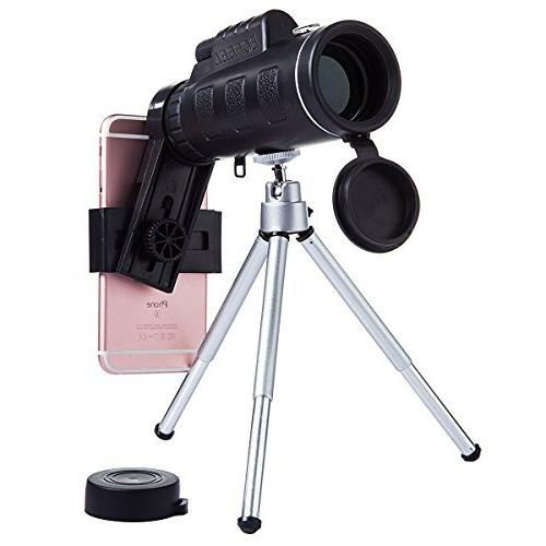 Monocular Power Low Phone Clip and for Cell