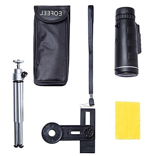 Monocular Telescopes Power Spotting Low Phone for Cell