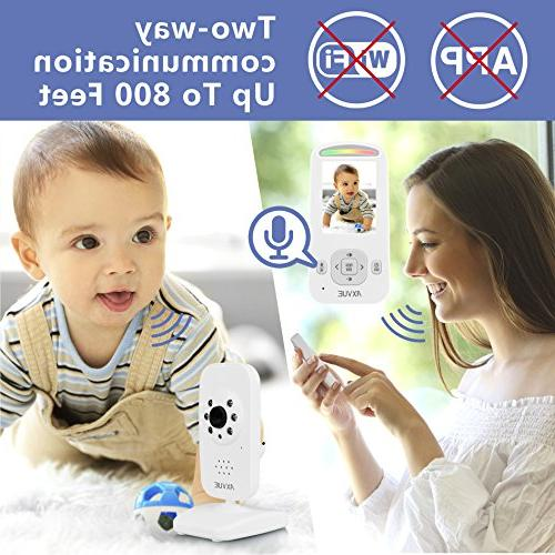 AXVUE Video Baby and Night Detection, Talk, Power Saving Video Lights.