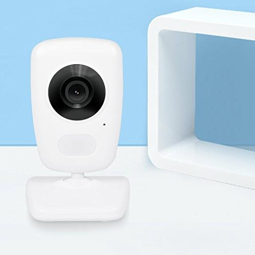AXVUE E632 Baby Monitor with Two Cameras and LCD, Vision, Talk, VOX, Sound Power Saving Expandable Cam