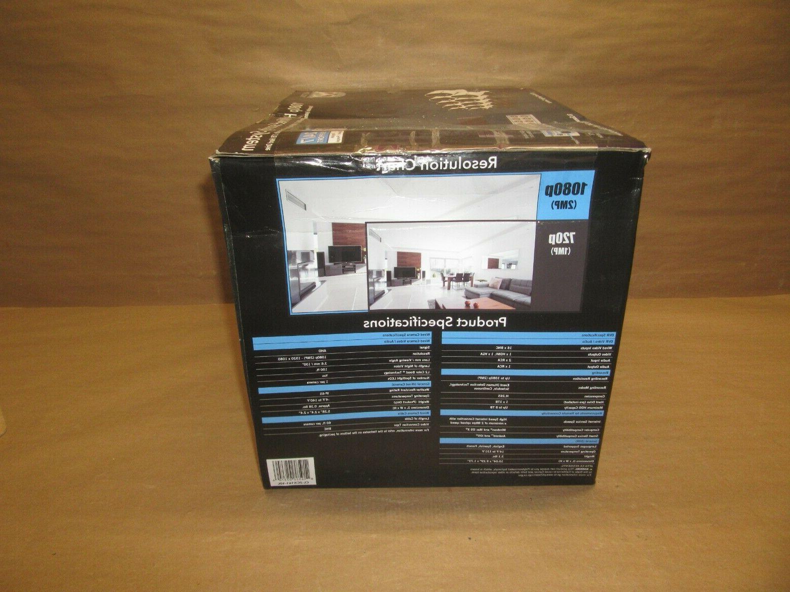 Ch HD Cameras