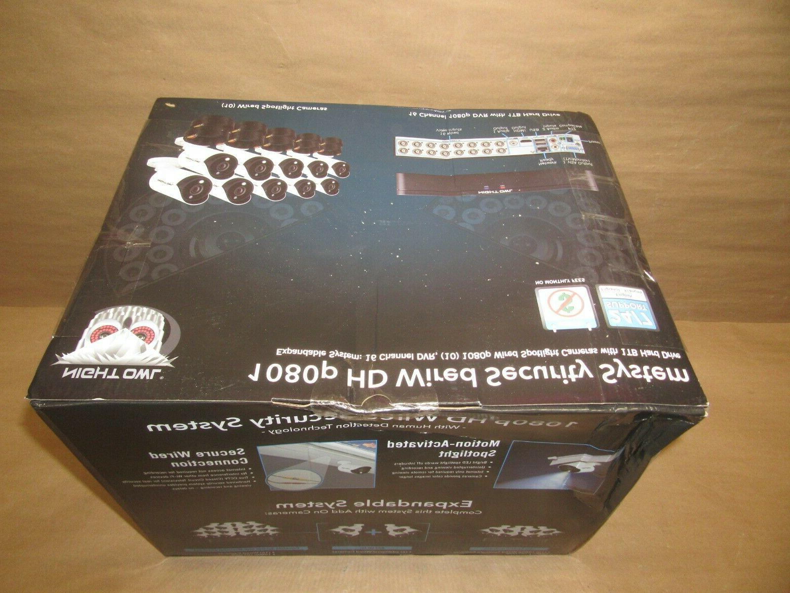 Night Ch HD & 1TB HDD