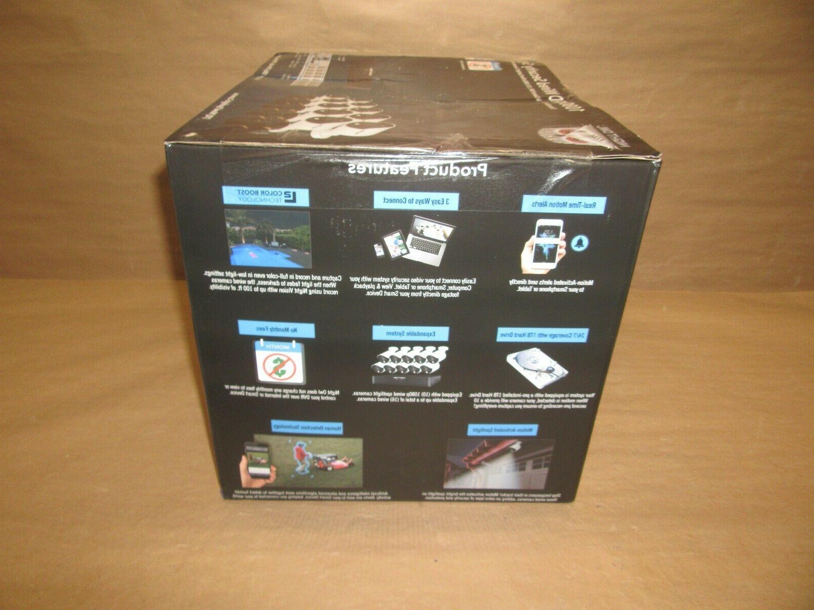 Night Expandable 16 Ch DVR 1080p HD & 1TB