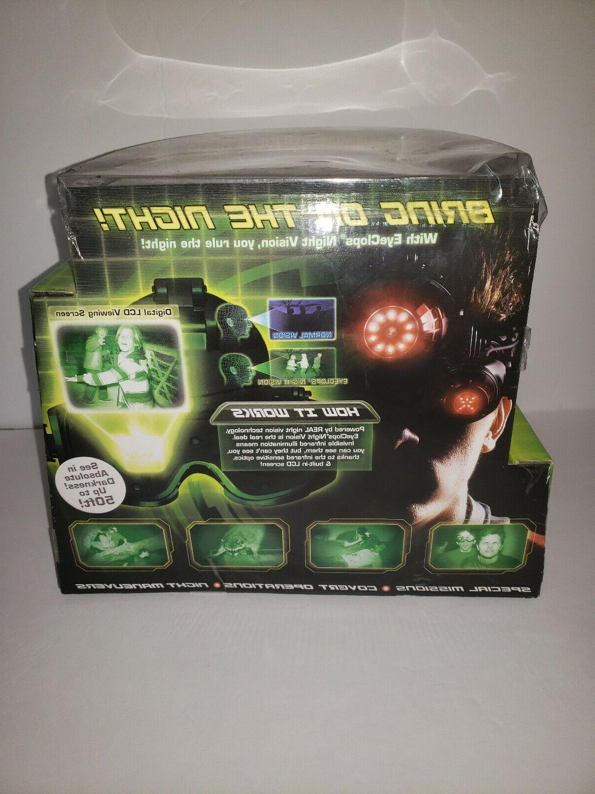 Jakks Pacific Eye Night Vision Infrared Stealth Goggles-See Feet!