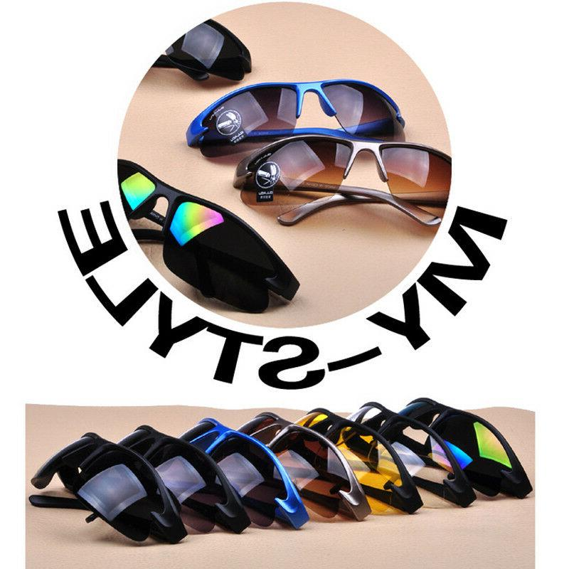 Fashion Men Night Sunglasses Lens Glasses