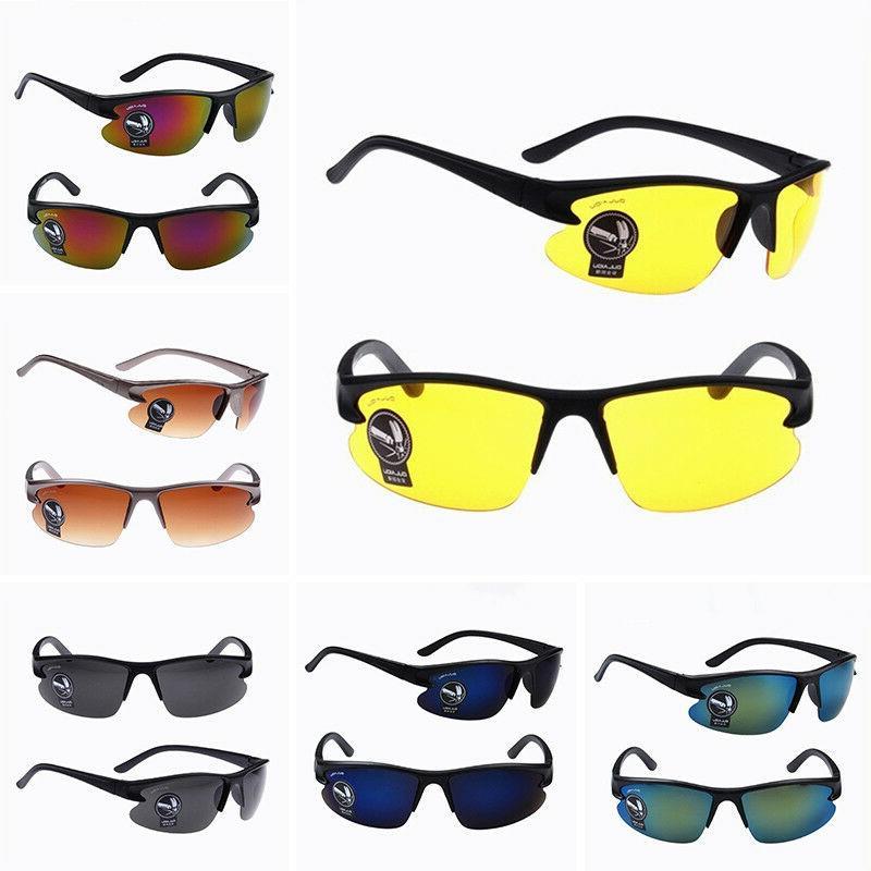 fashion men night vision sunglasses uv400 lens