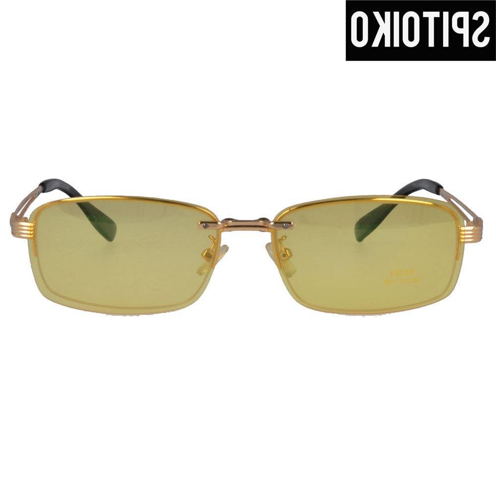 Fashional Double Lens Eyeglasses <font><b>On</b></font> Sunshades Eyewear S9203
