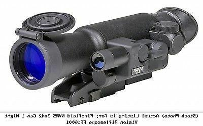 Firefield FF16001 NVRS 3x 42mm Gen 1 Night Vision Rifle Scop