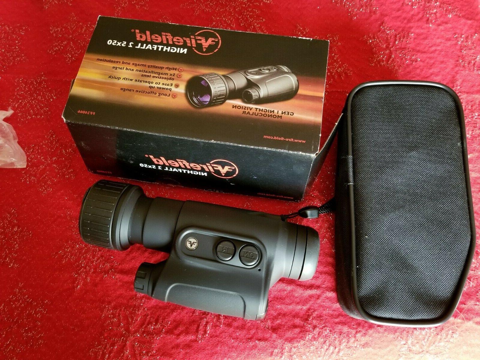 ff24066 night vision monocular nightfall 2 5x50