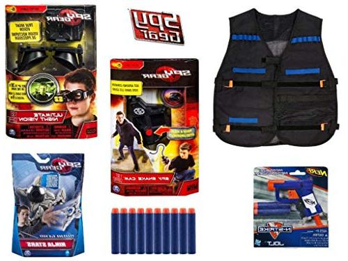 Spy Gamma Kit Extreme Secret Tool Set Bundle, Vision Spy
