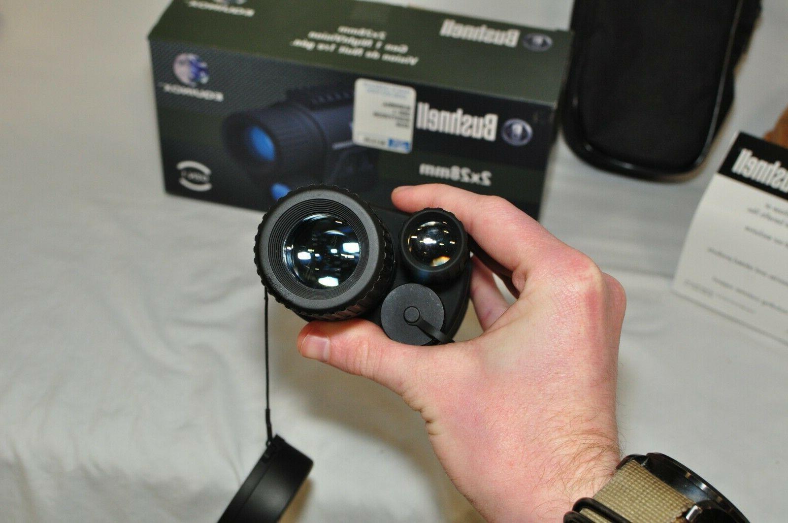 Bushnell Night 2x28mm Equinox. In Box. 123 Batteries