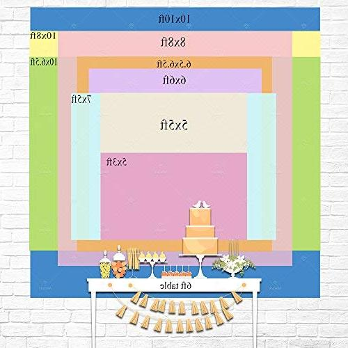 Allenjoy Magic Theme Birthday Backdrop for Cake Nights Moroccan Sweet 16 Girl Princess First Shower Party Table Background Studio Prop
