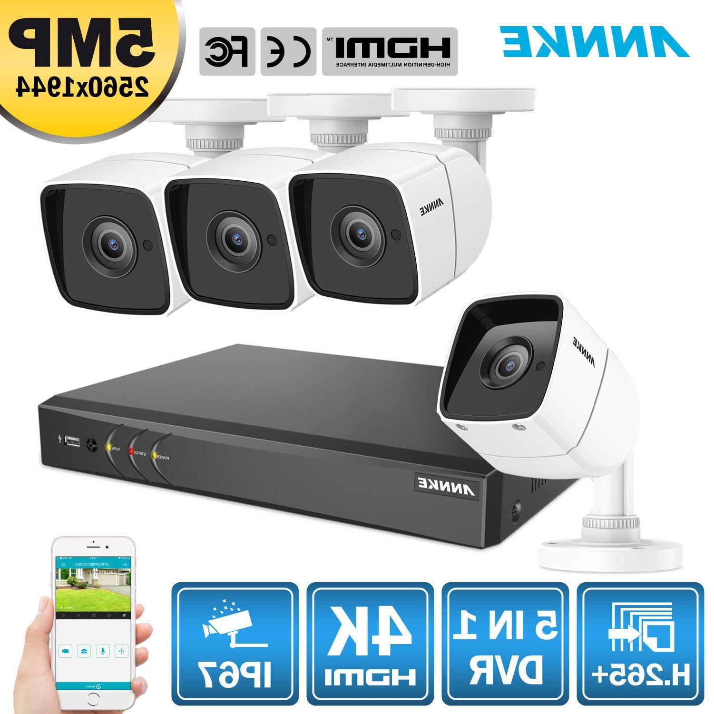 ANNKE H 265+ 5in1 4K Video 8CH DVR HD