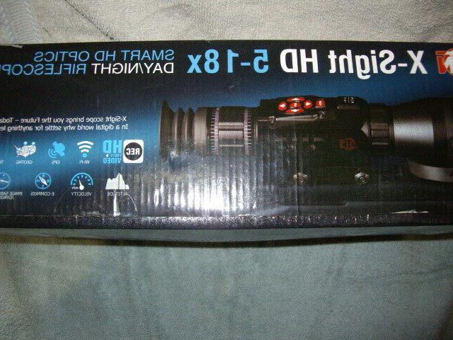 ATN HD 5-18x Vision Weapon Sight