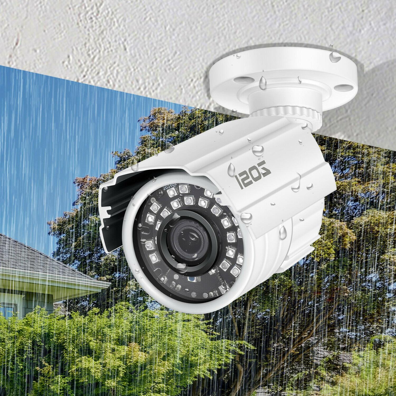 ZOSI HD IR-LEDs 3.6mm lens IR Security Camera