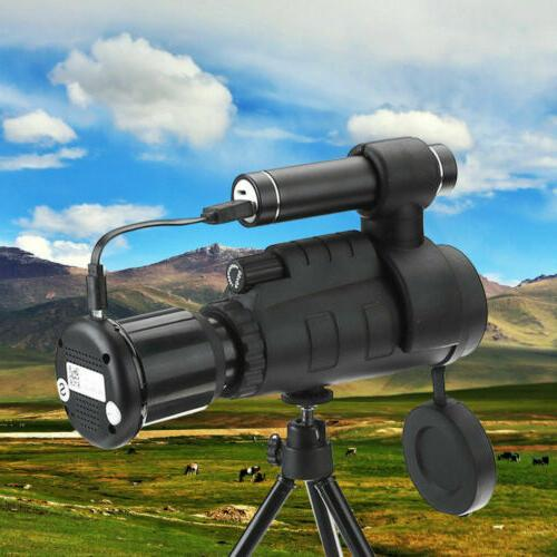 IR Night Vision Monocular Telescope 1080P HD Infrared With P