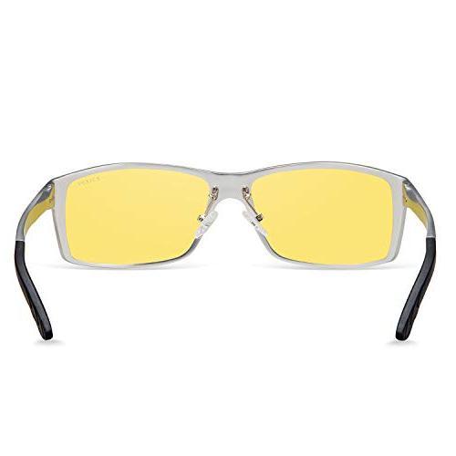 HD Night Glasses Men Anti Glare Sliver