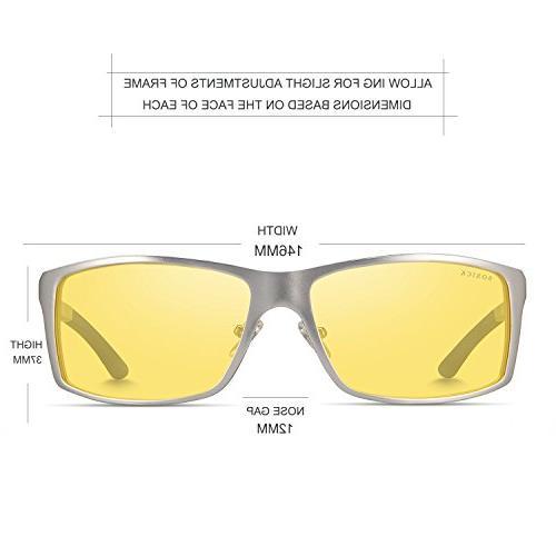 HD Glasses Anti Glare Sliver