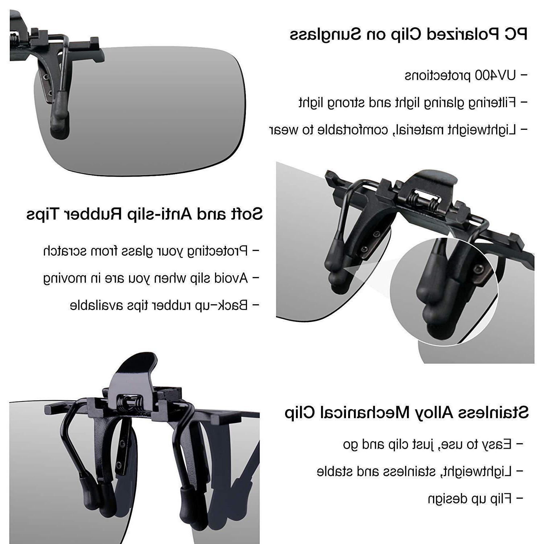 HD Vision Glasses Sunglasses Black Durabl