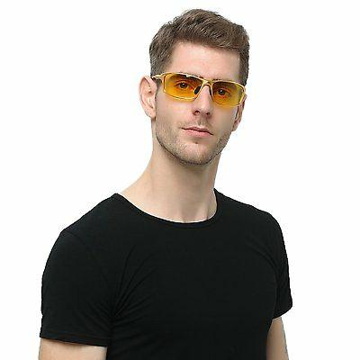 HD Night Vision Glasses For Sunglasses Glare Safe Night