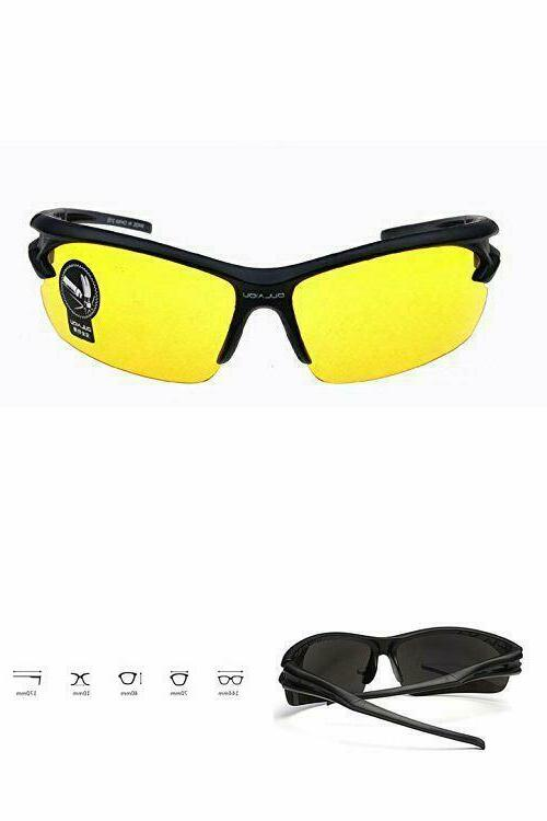 hd vision night tactical glasses uv400 hd