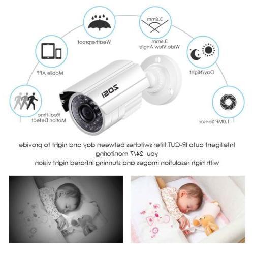 ZOSI 720P CCTV Camera Home