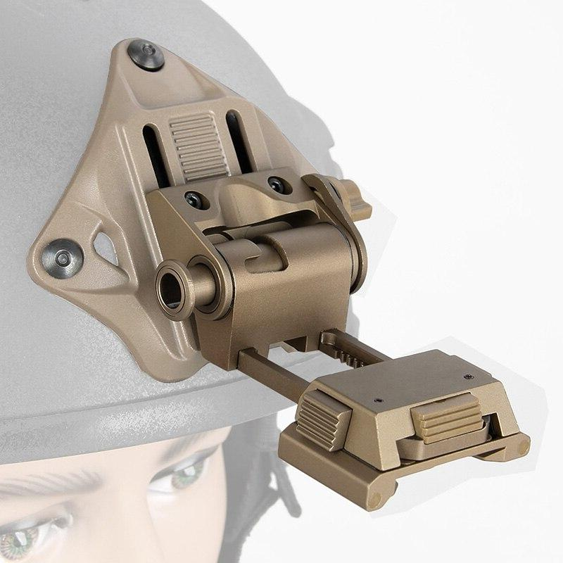Helmet <font><b>Night</b></font> Scope Helmet Mount Bracket Shroud