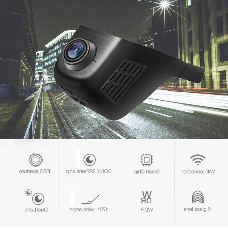 Hidden HD WIFI DVR Camera Video Dash Cam Night